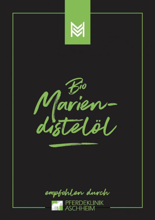 Bio Mariendistelöl von Malou, Label