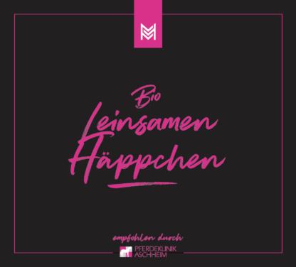 Bio Lein Häppchen von Malou in Kooperation mit Pferdeklinik Aschheim, Label